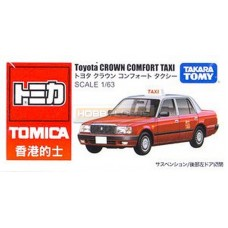 Tomica Toyota Crown Comfort Taxi Hong Kong (Red)