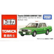 Tomica Toyota Crown Comfort Taxi Hong Kong (Green)
