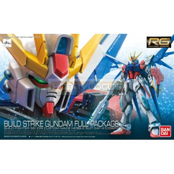 Real Grade RG 23 Build Strike Gundam Full Package