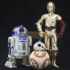 Artfx+ Star Wars R2-D2 & C-3PO with BB-8
