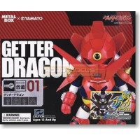 Yamato Metal Box MB Alloy MBG-01B Black Getter Dragon Metallic Black Version