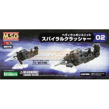 M.S.G. Heavy Weapon Unit 02 Spiral Crusher